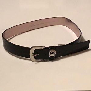 Michael Kors Black Belt - Size Large